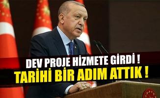 Başkan Erdoğan'dan 'Sarıkamış-Karakurt-Horasan' yolu açılışında önemli açıklamalar !