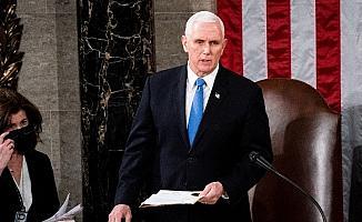 ABD Başkan Yardımcısı Pence'in Biden'ın yemin törenine katılacağı iddia edildi