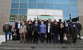 Başkan Arslan gazeteciler ile bir araya geldi