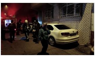 Bursa'da 3 katlı apartmanda yangın