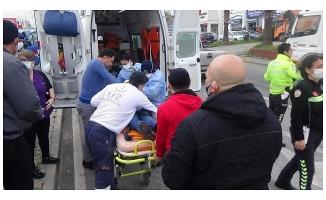 Bursa'da trafik kazası: 1 yaralı