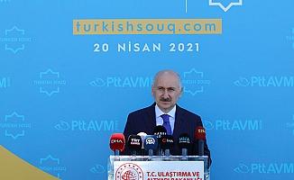 Bakan Karaismailoğlu: PTT güvencesi ile 53 ülkeye e-ihracat gerçekleştiriyoruz