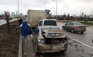 Bursa'da zincirleme kaza !