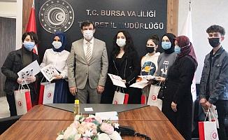 BURSA'DA 'TÜKETİCİ HAKLARI' KONULU RESİM VE KARİKATÜR YARIŞMASINDA DERECEYE GİREN ÖĞRENCİLER BELLİ OLDU
