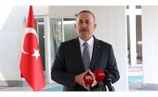 Dışişleri Bakanı Mevlüt Çavuşoğlu'ndan önemli görüşmeler