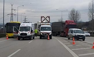 İstanbul Bursa yolunca feci kaza!
