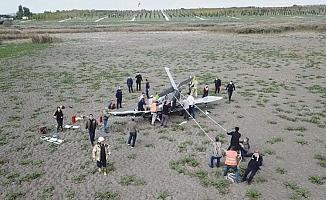 KT-1 tipi askeri uçak, eğitim uçuşunda denize düştü
