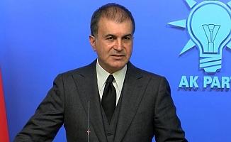 AK Parti Sözcüsü Ömer Çelik: Dünya dur demelidir