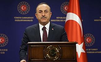 Bakan Çavuşoğlu: Vahşete ses çıkarmayanlar barış sürecinden bahsetmesin