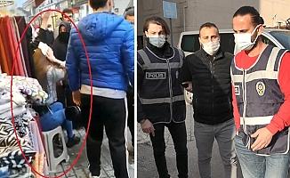 Bursa'da başkasına benzettiği genç kıza muşta ile saldıran sanık ilk duruşmada tahliye oldu