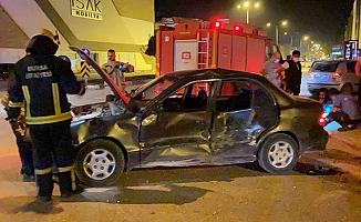 Bursa'da kazaya karışıp 500 metre kaçabilen sürücü, ceza yemekten kurtulamadı