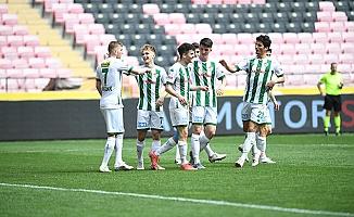 Bursaspor'un golleri altyapıdan