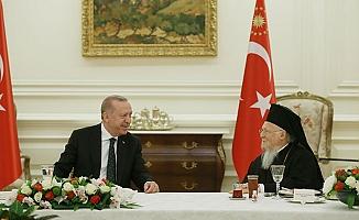 Cumhurbaşkanı Erdoğan, azınlık cemaat temsilcileriyle iftarda bir araya geldi