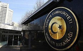 Dışişleri Bakanlığı: ABD Dışişleri Bakanlığı'nın ithamlarını reddediyoruz