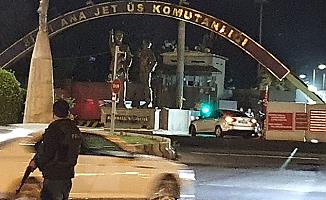 Diyarbakır'da 8'inci Ana Jet Üs Komutanlığı'na maket uçaklarla saldırı girişimine 1 gözaltı