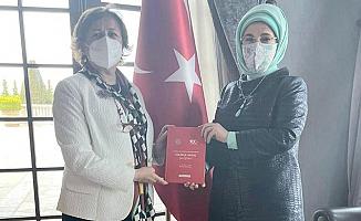 Emine Erdoğan'dan, gıda bankacılığının yaygınlaştırılmasına destek