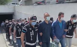 FETÖ'nün mali yapılanmasına yönelik operasyonda gözaltına alınan 29 şüpheli adliye sevk edildi