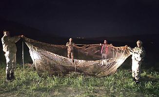 Kaçak avlanan 16 ton 200 kilo inci kefali ele geçirildi