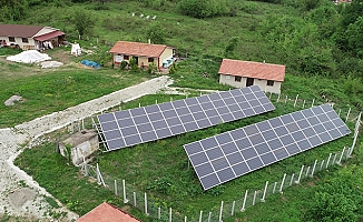 Köylü kadınlar, kooperatiflerinde elektriklerini de üretmeye başladı
