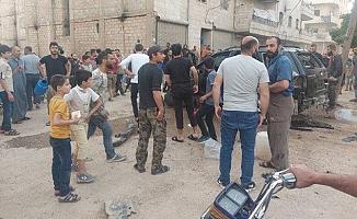 PKK/YPG'li teröristlerin bombalı saldırısında 5 çocuk yaralandı