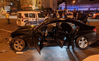 Polisi 90 kilometre peşine taktı, kovalamaca kazayla bitti: 2 yaralı