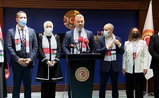 TBMM Türkiye-Filistin Dostluk Grubu'ndan açıklama