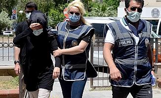 Thodex soruşturmasında gözaltına alınan Zuhal Özer, adliyede