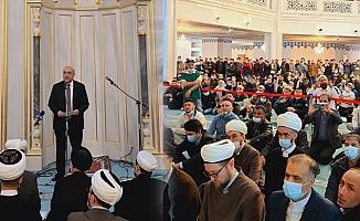 Türkiye'nin Moskova Büyükelçisi, Moskova'da Kudüs Günü'nde konuştu