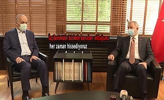 Bakan Akar'dan Türk-İş'e ziyaret