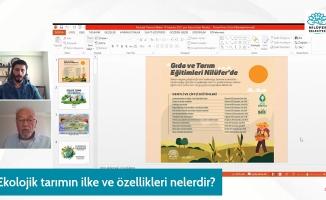 Bursa Nilüfer Belediyesi'nin düzenlediği Gıda ve Tarım Eğitimleri'nin ikinci oturumu yapıldı