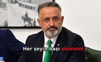 Bursaspor Başkan Adayı Acarhoroz: Ekonomik olarak güçlü olmalıyız