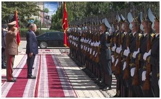 Savunma Bakanı Akar, Kırgızistan'da