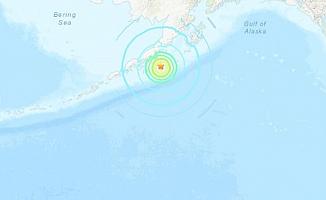 Alaska'da 8,2 büyüklüğünde deprem