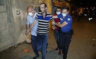 Annesi, eşi ve 5 çocuğunu rehin alan şüpheli serbest