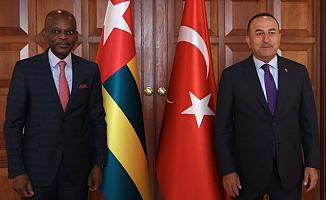 Bakan Çavuşoğlu, Togo Dışişleri Bakanı Dussey ile görüştü