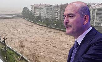 Bakan Soylu'dan 'baraj patladı' iddiasına yalanlama
