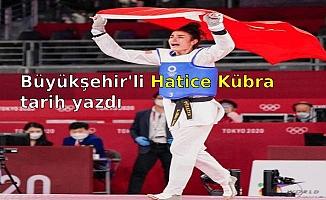 Büyükşehir'li Hatice Kübra tarih yazdı