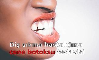 Diş sıkma hastalığına çene botoksu tedavisi