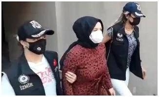 İzmir'de yakalanan FETÖ elebaşının akrabası Munise Gülen tutuklandı