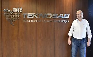 Karacabey Belediye Başkanı Özkan, TEKNOSAB'ta incelemelerde bulundu