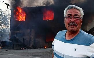Kozan'da ikinci gününde devam eden orman yangının acı tablosu sabah ortaya çıktı