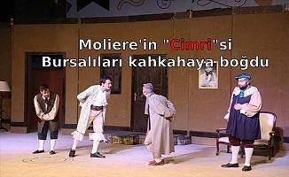 "Moliere'in ""Cimri""si Bursalıları kahkahaya boğdu"