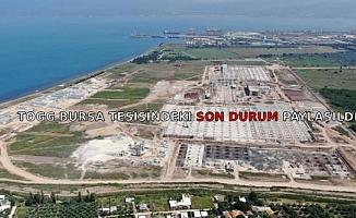 TOGG Bursa tesisindeki son durum paylaşıldı