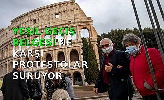 YEŞİL GEÇİŞ BELGESİN'E  KARŞI  PROTESTOLAR SÜRÜYOR
