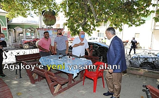 Ağaköy'e yeni yaşam alanı