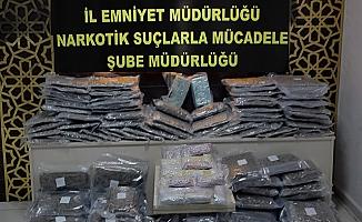 Bulgaristan'dan gelen TIR'da uyuşturucu ele geçirildi: 2 gözaltı