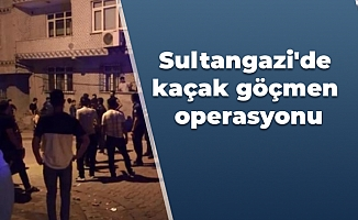 Sultangazi'de kaçak göçmen operasyonu