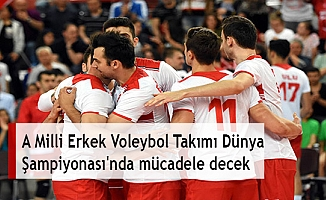 A Milli Erkek Voleybol Takımı Dünya Şampiyonası'nda mücadele decek