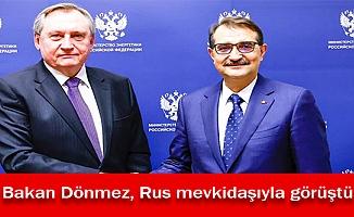 Bakan Dönmez, Rus mevkidaşıyla görüştü