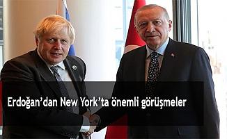 Erdoğan'dan New York'ta önemli görüşmeler